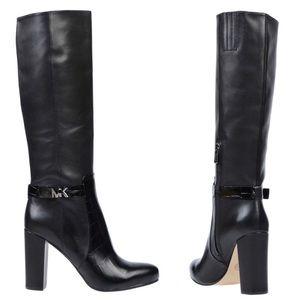 Black Julianna Knee Boots Size 8m